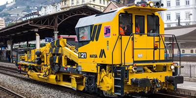 Motori e ricambi per mezzi ferroviari